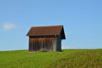 Holzhütte im Allgäu