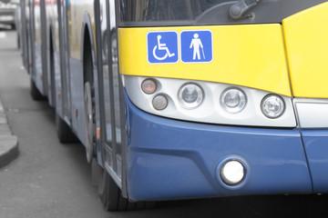 Public transportation - bus.