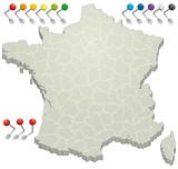 Fototapety France - Département 3D 2