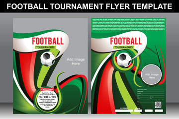 Football Tournament Flyer Tepmplate