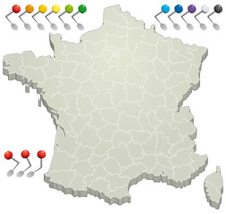 France - Département 3D 2