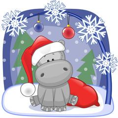 Santa Hippo