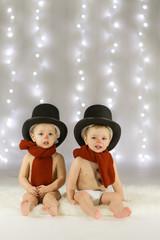 kinderen kerstkaart