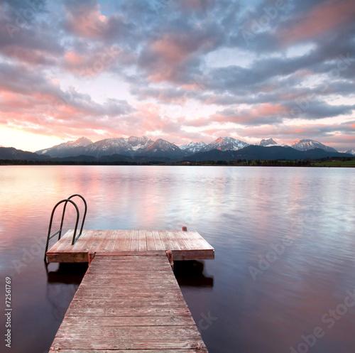 stiller See mit Steg © Jenny Sturm