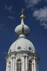 Kuppel von russischer Kathedrale
