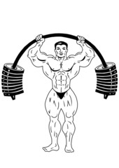 training with big weights
