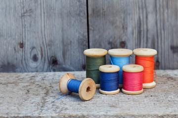 Vintage reel of thread