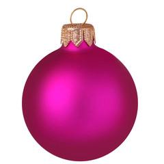 Glitter christmas ball isolated