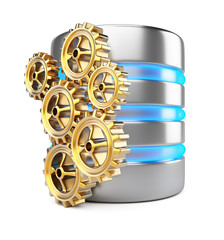 Database server and cogwheels
