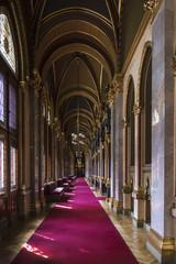 Corridoio del Parlamento di Budapest