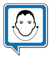 Logo protection contre le bruit.