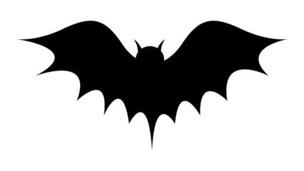 Bat Shape Drawing
