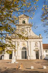 Mariastein, Kloster Mariastein, Herbst, Solothurn, Schweiz