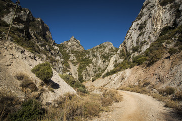 Limestone canyon