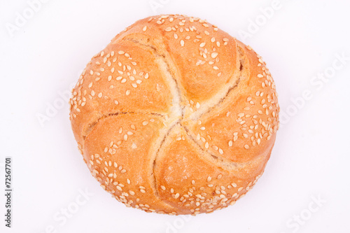 Foto op Canvas Brood kaiser roll bread