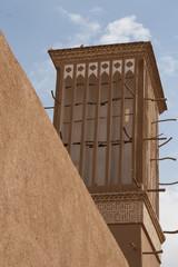 Windturm Lehmaltstadt Yazd