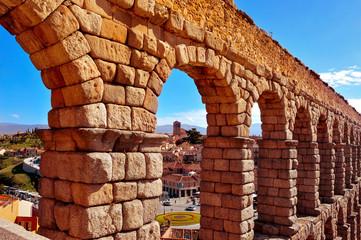 Aqueduct of Segovia, Spain