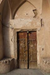 alte Tür im Bazar
