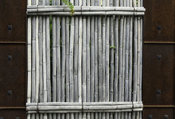 wood and steel texture
