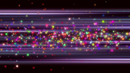 fantastic video – moving particles and background – loop HD