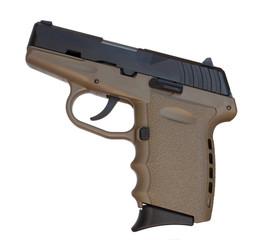 Brown pistol