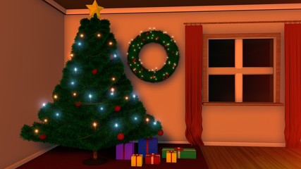 Christmastree with Gifts