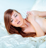 Gorgeous Female Charming and Naked poster