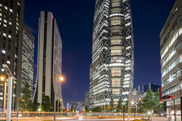 tokyo shinjuku district buildings