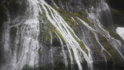 Panther Creek Waterfalls in Skamania County Washington