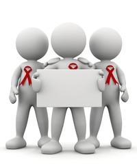omino bianco prevenzione HIV
