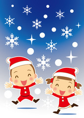 キラキラ輝くクリスマス