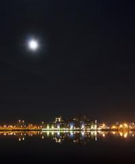 Poole Night Time Skyline