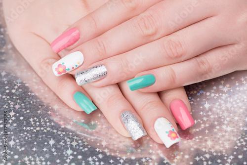 Manicure close up © tamara83