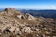 Sardegna, Oliena, panorama dal Monte Corrasi