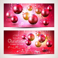 Luxury Christmas banners