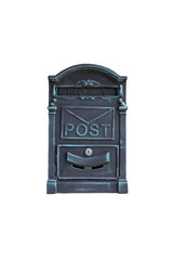 Post Box With White Background