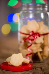 Hanukkah Cookies and Lights