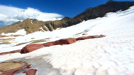 Sperry Glacier Landscape Montana