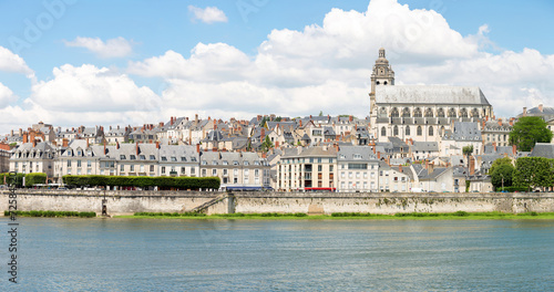 Panorama of Blois Cathedral