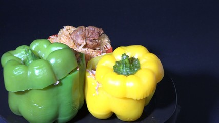 Cuban Cuisine: Stuffed Bell Peppers