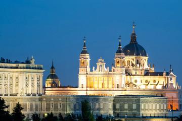Santa Maria la Real de La Almudena - Cathedral in Madrid, Spain