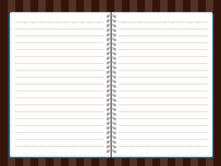 Vector of Note Book