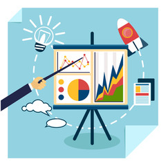 Presentation of business development concept