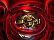 canvas print picture - Fraktal 3D