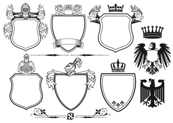 Königliche Ritter Wappen