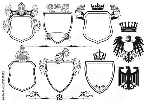Königliche Ritter Wappen - 72587995