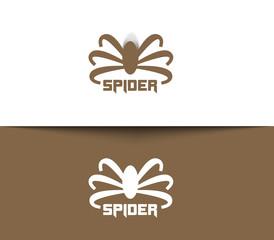 Symbol of Spider for Logo Design.