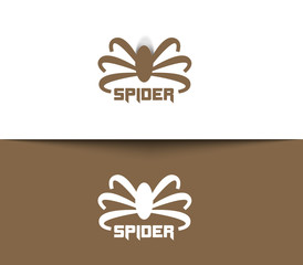 Symbol of Spider for Logo Design.