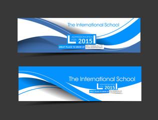 The International School Banner Template