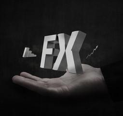 Forex dark concept